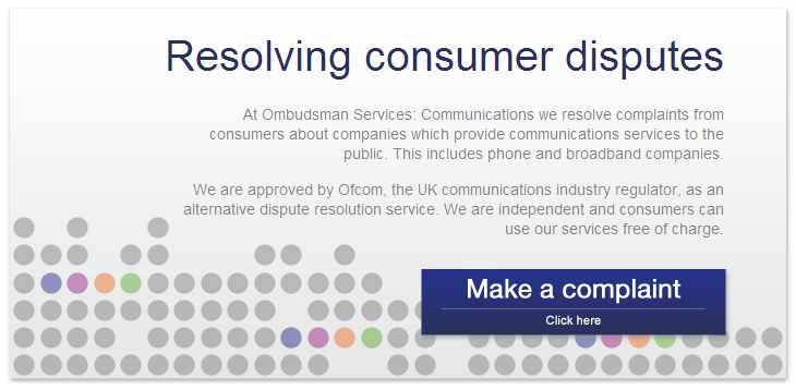 How to make a complaint to the Communications Ombudsman