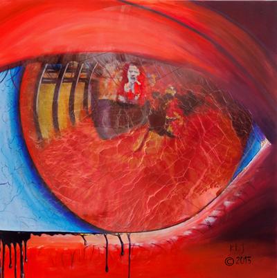 In the Bloodshot Eye of the Beholder - Kasia B. Turajczyk